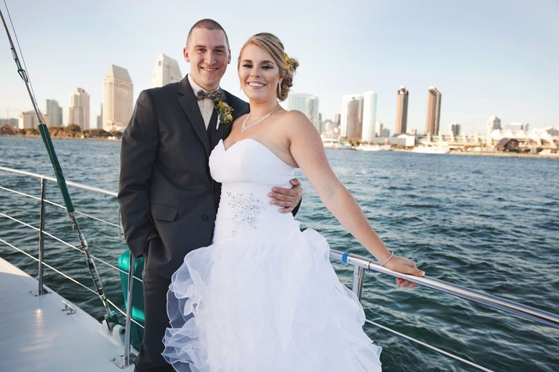 San Diego Wedding Couple