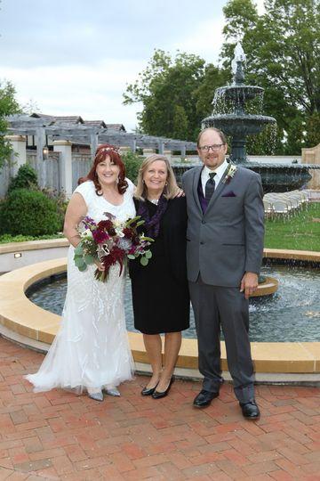 A Friday the 13th wedding