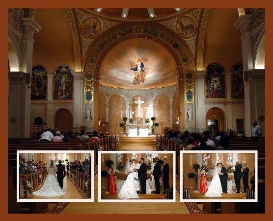 beautiful catholic ceremony