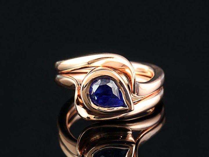 Tmx 1362696279483 14krPearSapphireWBOTPD11 Ann Arbor wedding jewelry
