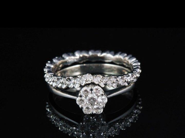 Tmx 1362696281810 14kwClusterDiaERFlowerWB Ann Arbor wedding jewelry