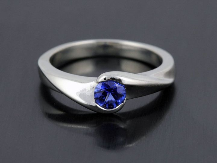 Tmx 1362696297818 14kwSapphireBypassBG12 Ann Arbor wedding jewelry