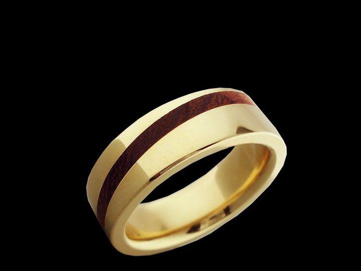 Tmx 1362784688389 14kyFlatElipse Ann Arbor wedding jewelry