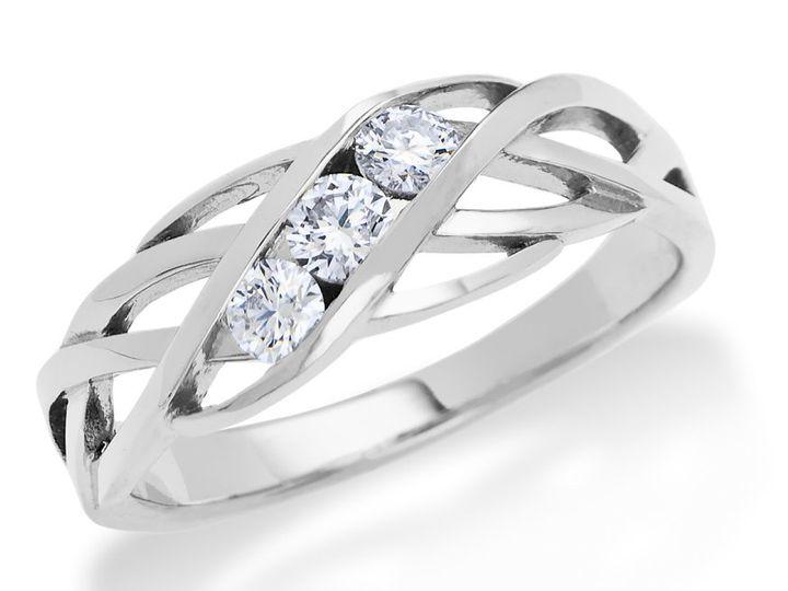 Tmx 1362787742858 TPTrianaIIW Ann Arbor wedding jewelry