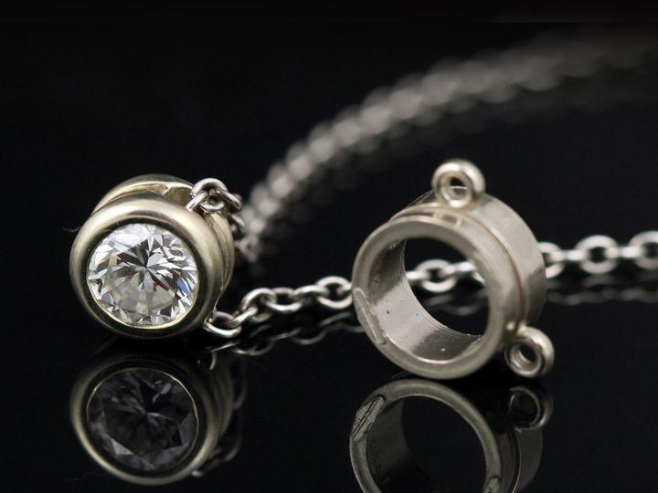 Tmx 1366228733545 14kwdiapendantbeforecl 13 Ann Arbor wedding jewelry