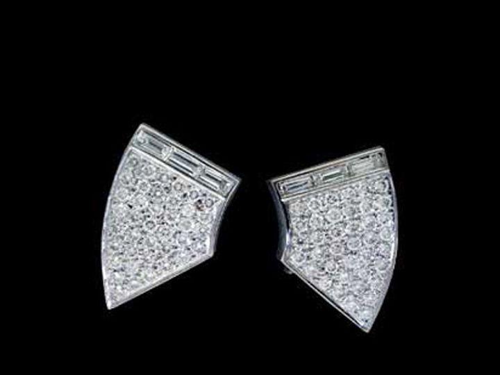 Tmx 1366228750164 14kw Diapaveearrings Ann Arbor wedding jewelry