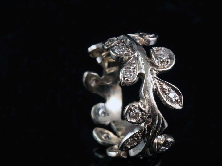 Tmx 1366228757634 14kw Dialeafband 11 Ann Arbor wedding jewelry