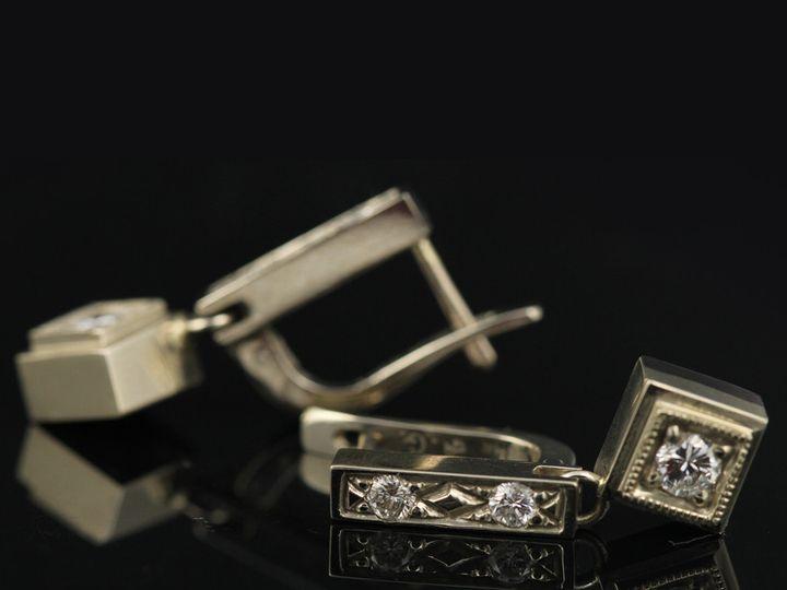 Tmx 1366228776489 14kwdiaearringsorigcl 13 Ann Arbor wedding jewelry