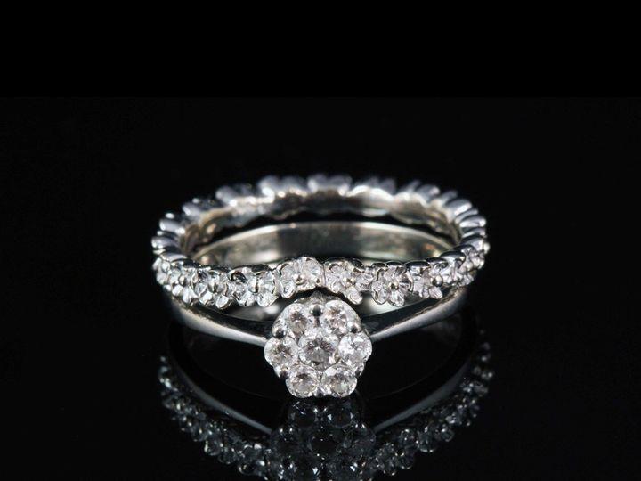 Tmx 1366229113103 14kwclusterdiaerflowerwb Ann Arbor wedding jewelry