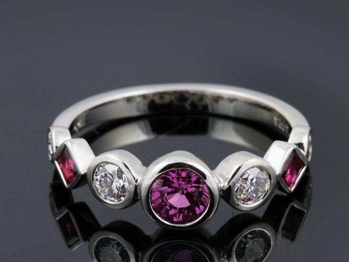 Tmx 1366229131729 18kwpinksappdiarubyitmj 12 Ann Arbor wedding jewelry