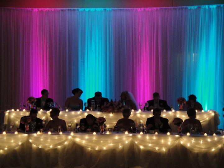 Head Table Uplights