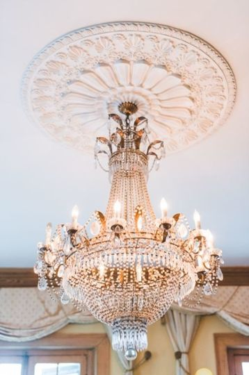 Reception chandelier