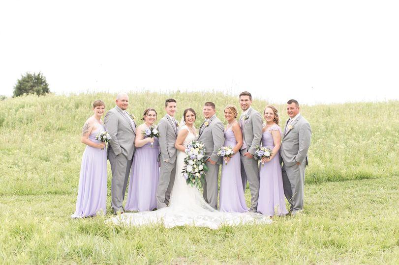 Lavender accents