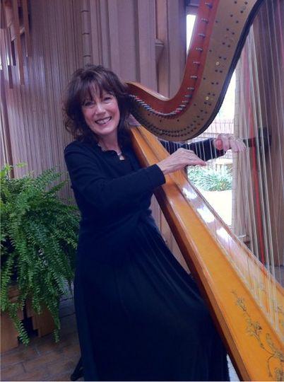 Harpist, Jenny Glass