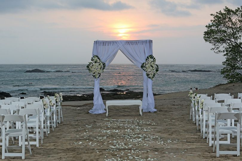 wedding ceremony beach