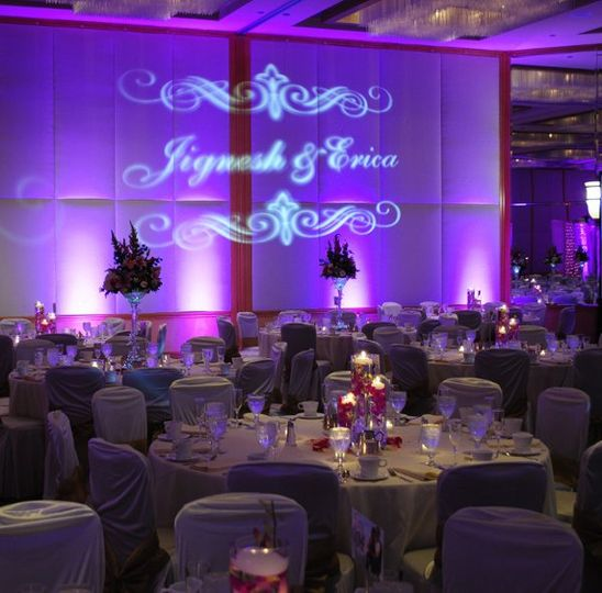Projection at the reception