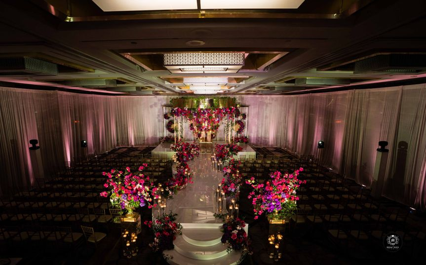 styled photo shoot 21 ceremony setup with mandap with low light 51 475765 161195507732552