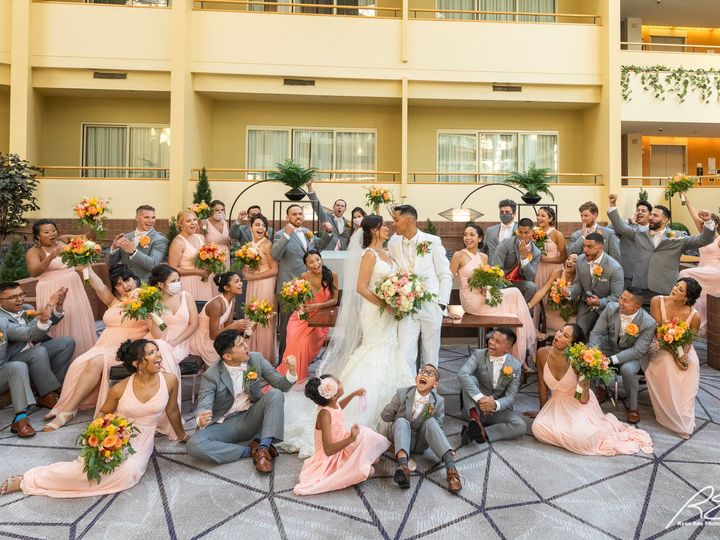 Tmx Picture Bridal Party In Waters Edge Without Masks 51 475765 159897150546187 Princeton, NJ wedding venue