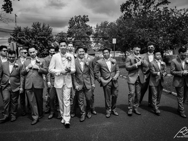 Tmx Picture Groom And His Groomsmen Black And White 51 475765 159897150883873 Princeton, NJ wedding venue