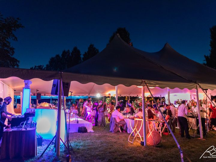 Tmx Picture Outside Tent At Socially Distanced Wedding 51 475765 159897151045970 Princeton, NJ wedding venue