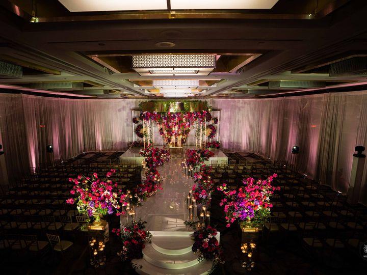 Tmx Styled Photo Shoot 21 Ceremony Setup With Mandap With Low Light 51 475765 161195507732552 Princeton, NJ wedding venue