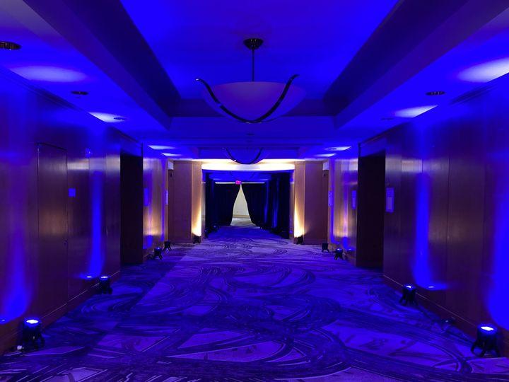 Tmx Witherspoon Foyer Blue Up Lights 51 475765 160192046817972 Princeton, NJ wedding venue