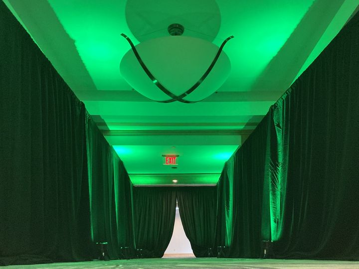 Tmx Witherspoon Foyer Green Up Lighting Anf Pipe And Drape 51 475765 160192046937950 Princeton, NJ wedding venue