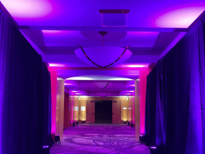 Tmx Witherspoon Foyer Pipe And Drape With Pink Uplights 2 51 475765 160192046965171 Princeton, NJ wedding venue