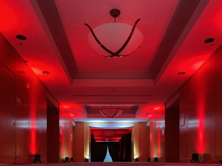 Tmx Witherspoon Foyer Red Uplighting With Pipe And Drape 51 475765 160192047175706 Princeton, NJ wedding venue