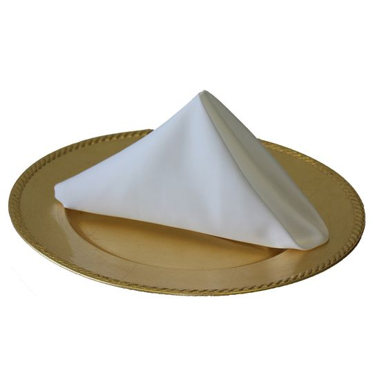 White Napkins for Weddings (Lamour)