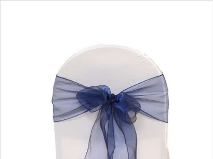 Tmx 1323306432296 NavyBLueOrganza8x108Sash Sun Valley wedding rental