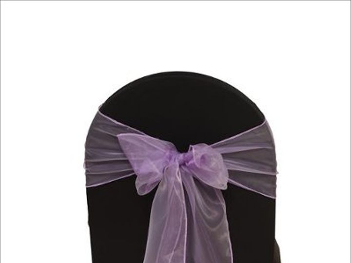 Tmx 1323306434652 PurpleOrganza8x108Sash Sun Valley wedding rental