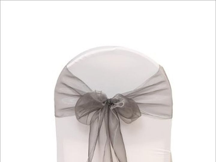 Tmx 1323306443200 SilverOrganza8x108Sash Sun Valley wedding rental