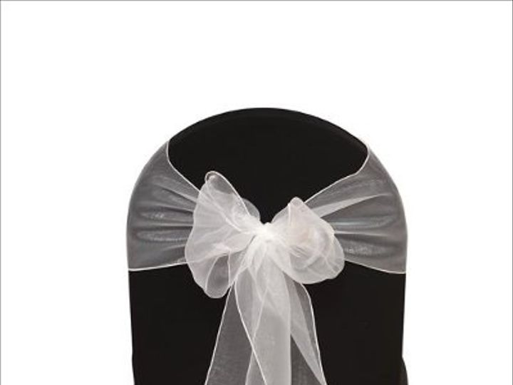 Tmx 1323306445322 WhiteOrganza8x108Sash Sun Valley wedding rental