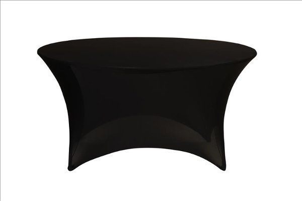 Tmx 1323307173516 BlackSpandex5foutRoundTableCover Sun Valley wedding rental
