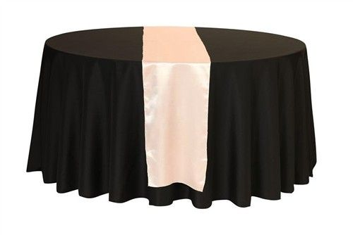 Tmx 1405018425643 Satin Table Runners Blush Sun Valley wedding rental