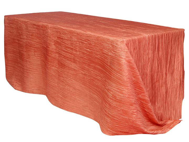 Tmx 1405026930474 90 X 156 Inch Rectangular Crinkle Taffeta Tableclo Sun Valley wedding rental