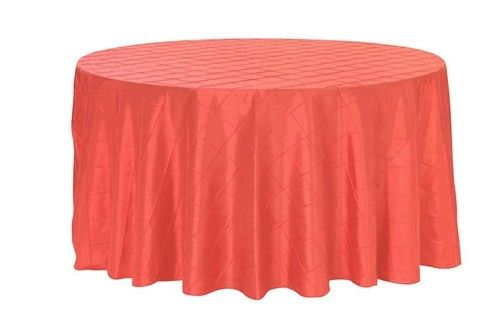 Tmx 1405033816216 120 Inch Pintuck Tablecloth Coral Sun Valley wedding rental
