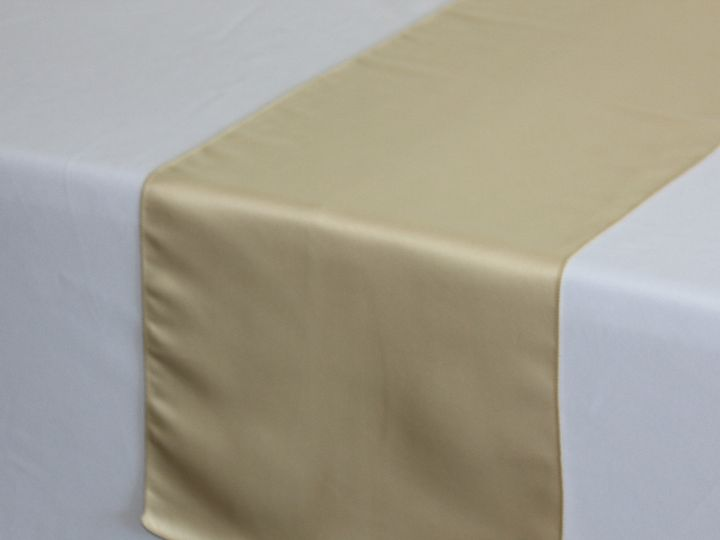 Tmx 1405107793032 Champagne Lamour Table Runners For Weddings Sun Valley wedding rental