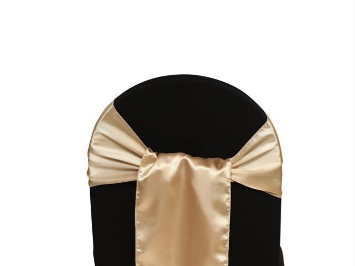 Tmx 1405108176396 Champagne Chair Sashes Satin Sun Valley wedding rental