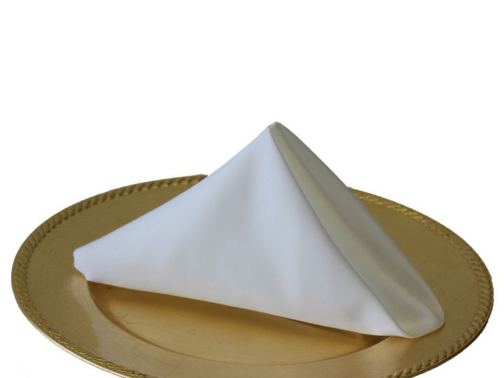 Tmx 1405110287096 20 Inch White Lamour Satin Napkins For Weddings Sun Valley wedding rental