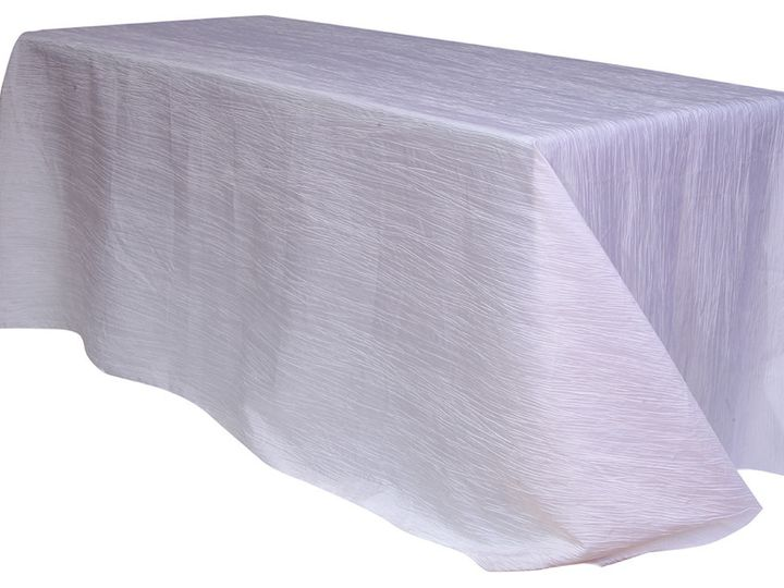 Tmx 1405110319632 90 X 156 Inch Rectangular Crinkle Taffeta Tableclo Sun Valley wedding rental