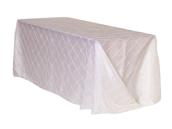 Tmx 1405110324134 90 X 156 Inch Rectangular Pintuck Taffeta Tableclo Sun Valley wedding rental