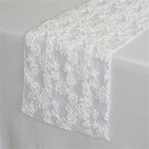 Tmx 1405110821015 White Lace Table Runners Sun Valley wedding rental