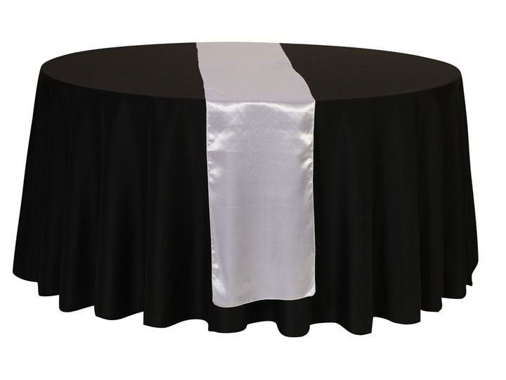 Tmx 1405110835277 White Satin Table Runners Sun Valley wedding rental