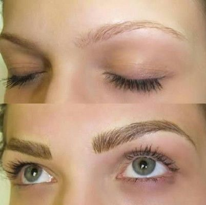Brow and lash work