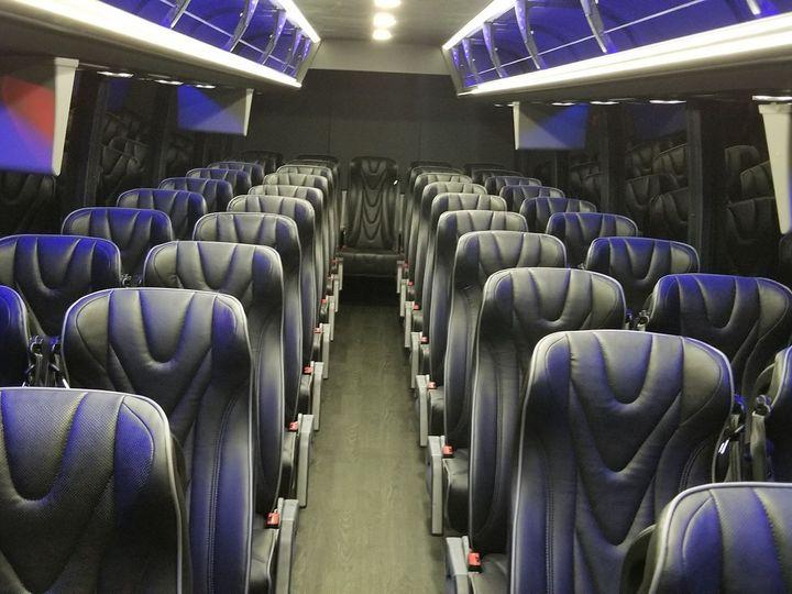 Tmx Gem Pic New Bus Interior Front To Back 51 196765 158109784811432 Hazelwood, MO wedding transportation