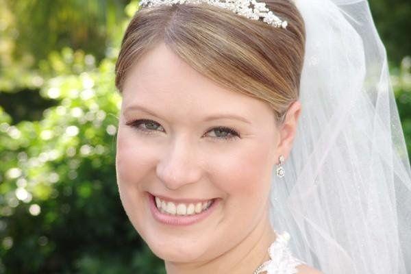 """Natural Bride""  Soft natural Makeup, False Lashes."