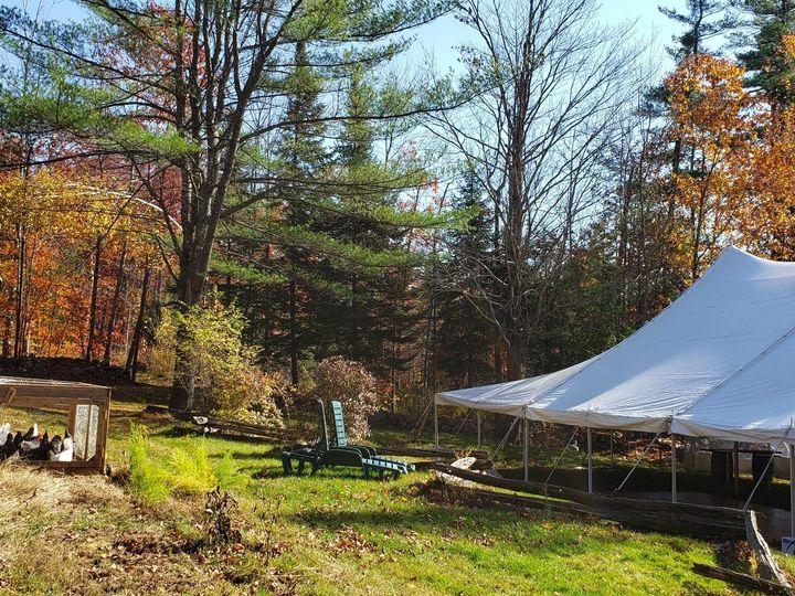Tmx Tent Being Set Up 51 1897765 157417791170642 Holderness, NH wedding venue