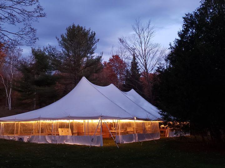 Tmx Tent Set Up Night Before Wedding 3jpg 51 1897765 157417791050637 Holderness, NH wedding venue